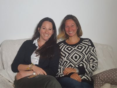 Ann Kristin Barth und Julia Kamenik